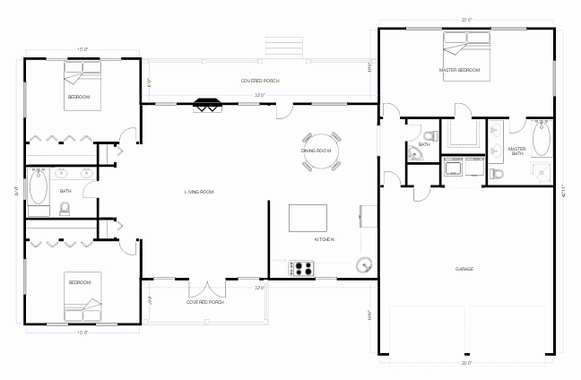 Autocad Floor Plan Template Awesome Cad Drawing