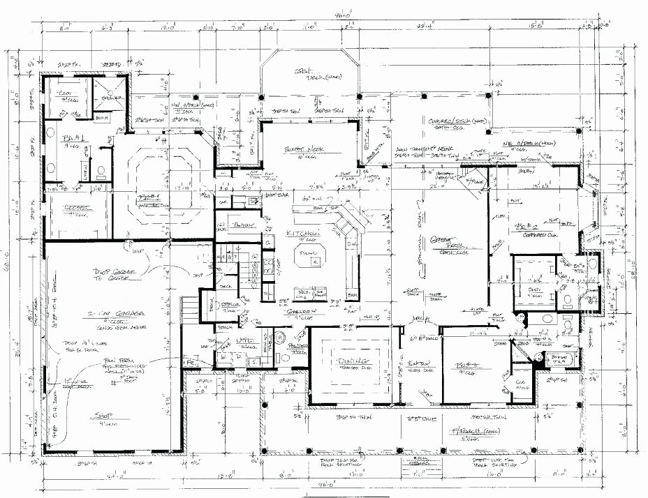 Autocad Floor Plan Template Elegant Autocad Floor Plan Template Draw A House Plan New Floor