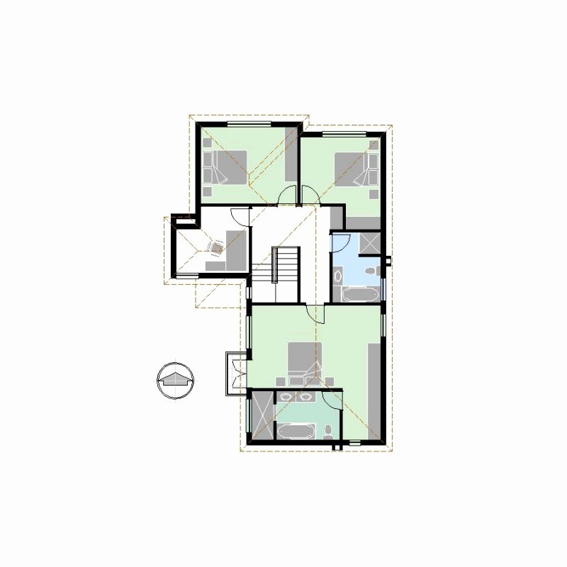 Autocad Floor Plan Template Fresh Cp0243 1 3s3b2g – House Floor Plan [pdf Cad]
