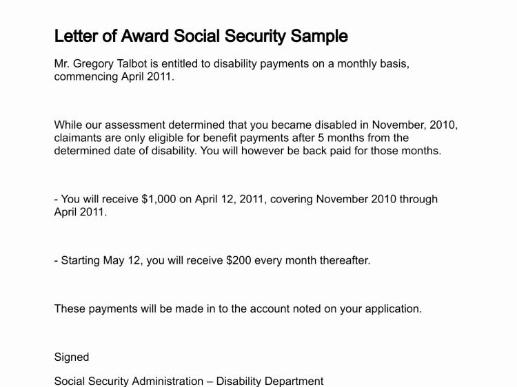 Award Recommendation Letter Sample Beautiful Letter Of Award