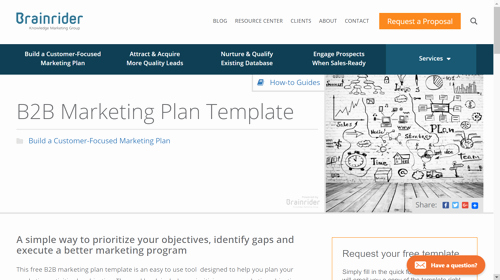 B2b Marketing Plan Template Awesome 10 B2b Marketing Plan Examples to Help You Stay organized