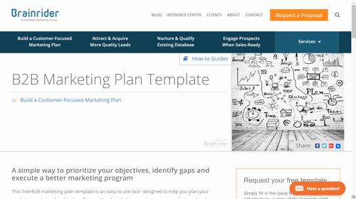 B2b Marketing Plan Template Awesome 10 B2b Marketing Plan Examples to Help You Stay organized