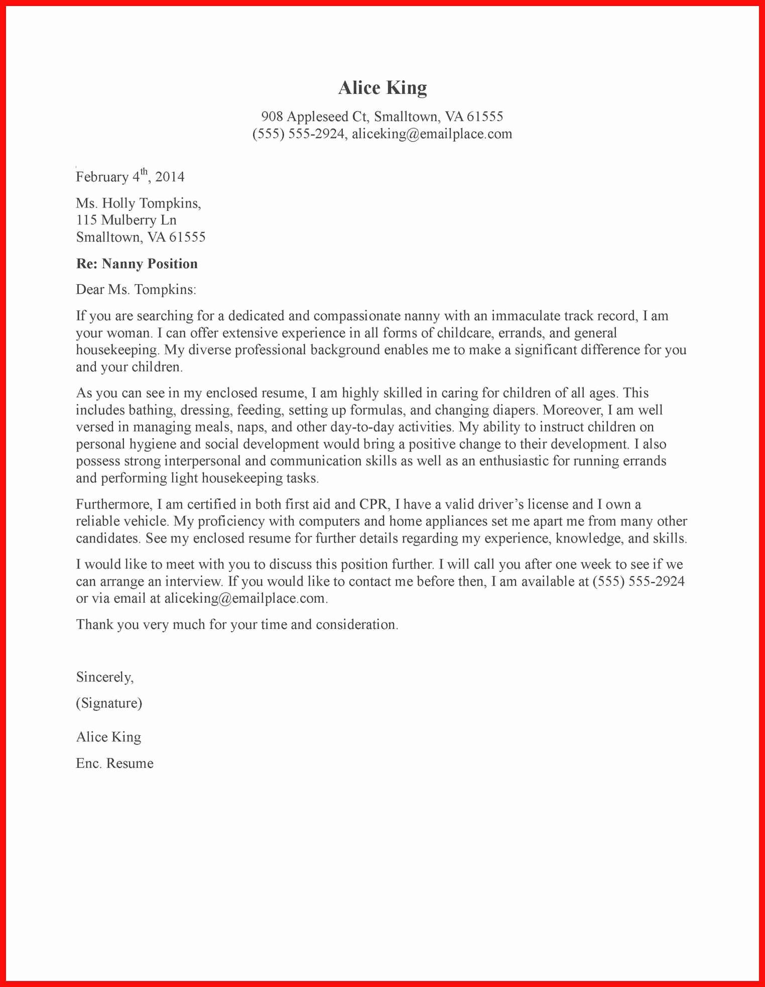 Babysitter Letter Of Recommendation Best Of Babysitting Letter Sample