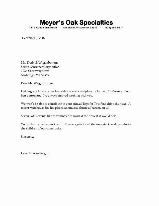 Bad Letter Of Recommendation Unique Sample Bad News Letter