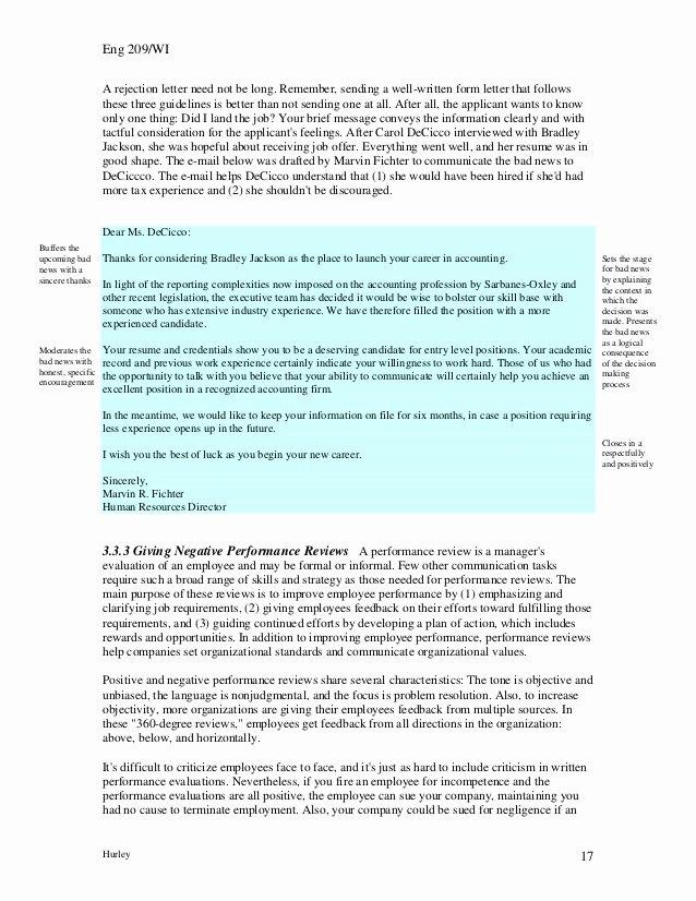 Bad News Letter format Luxury Badnews