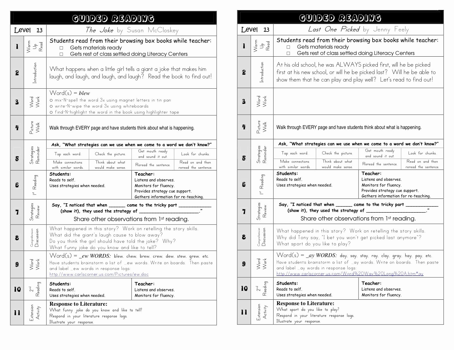 Balanced Literacy Lesson Plan Template Awesome Great Guided Reading Plan Guided Reading