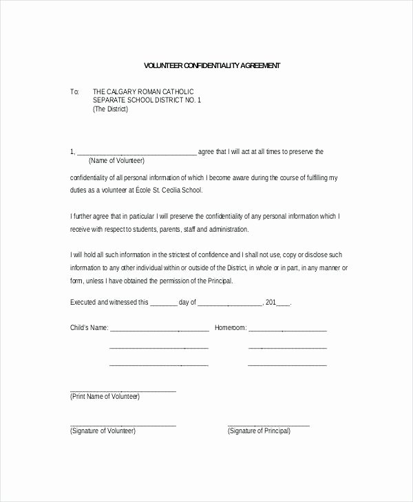 Band Rehearsal Plan Template Awesome Group Confidentiality Agreement Template Free Non