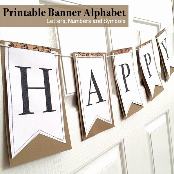 Banner Letters and Numbers Templates Inspirational 17 Best Ideas About Printable Banner Letters On Pinterest