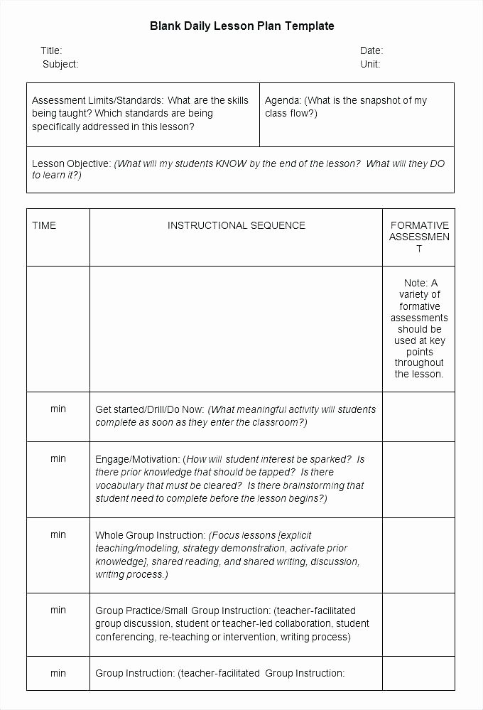 Basic Lesson Plan Template Beautiful Simple Lesson Plan Template Word Basic Doc Download Sample
