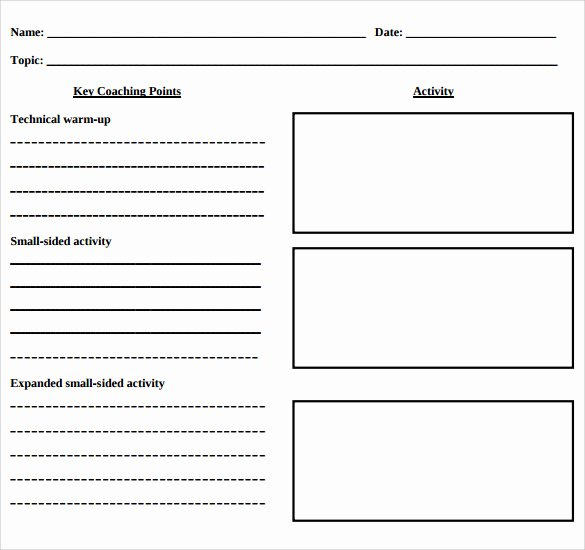 Basic Lesson Plan Template Best Of 12 Blank Lesson Plan Templates – Samples Examples
