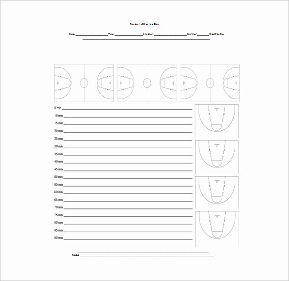 Basketball Practice Plan Template Fresh 27 Of Basketball Drill Template