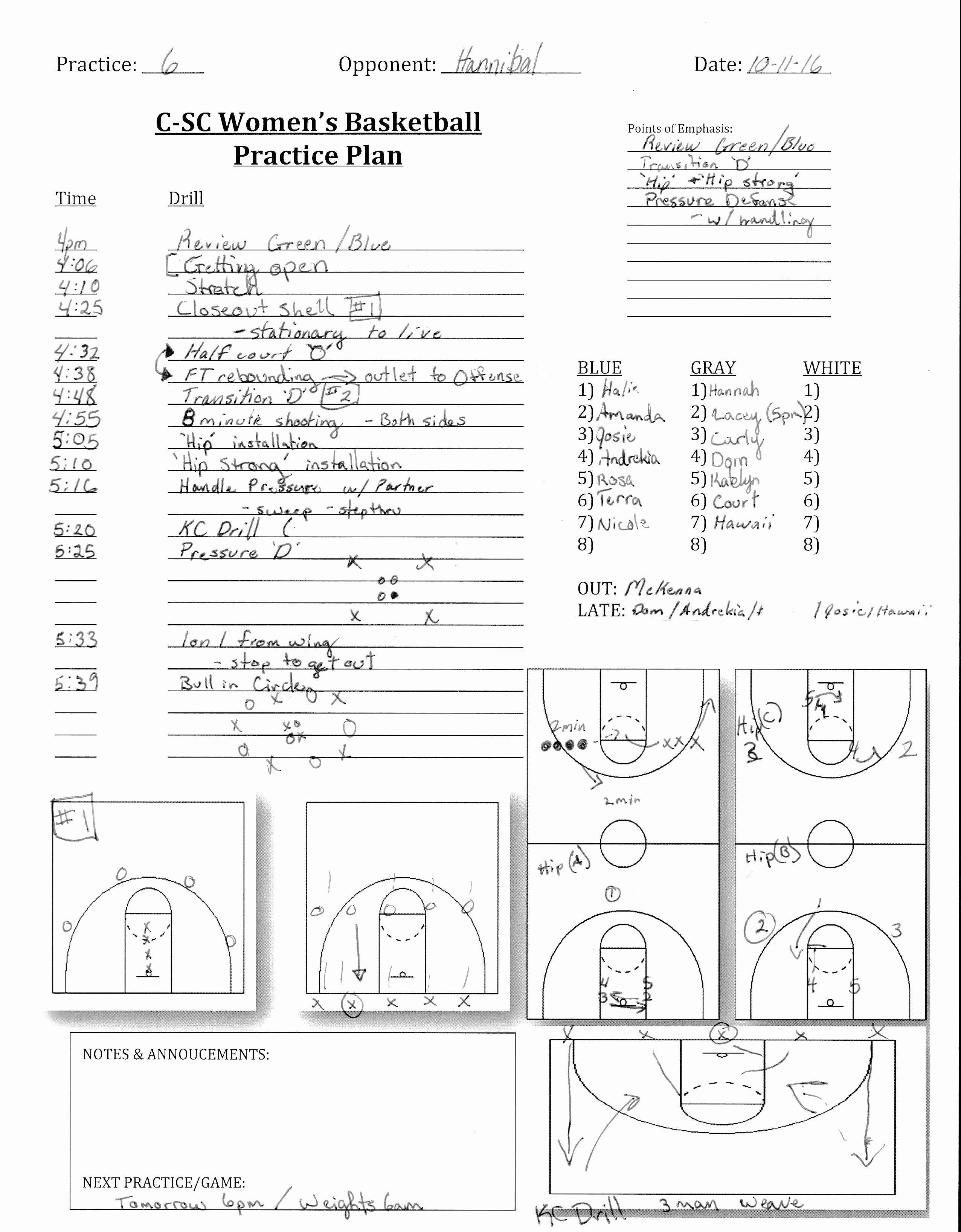 Basketball Practice Plan Template Pdf Beautiful Basketball Training Plan for Beginners