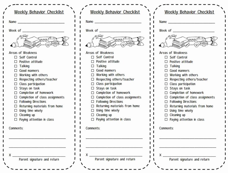 Behavior Management Plan Template Unique Best 25 Weekly Behavior Charts Ideas On Pinterest