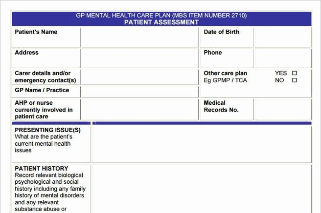 Behavioral Health Treatment Plan Template New 3 Mental Health Care Plan Templates to Help You Be A