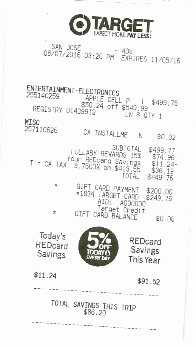 Best Buy Receipt Generator Beautiful Tar Receipt Generator Shopping Hacks Store Hacks Money