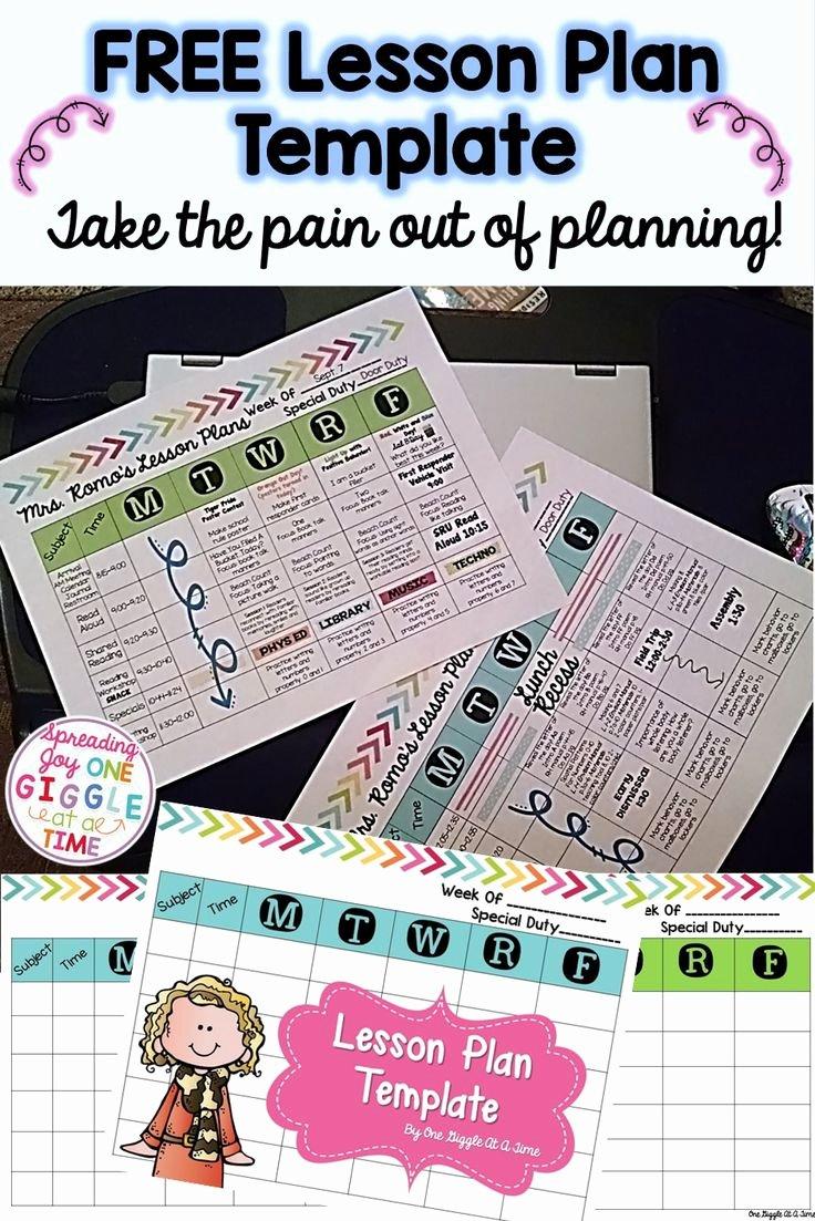 Best Lesson Plan Template Unique Best 25 Lesson Plan Templates Ideas On Pinterest