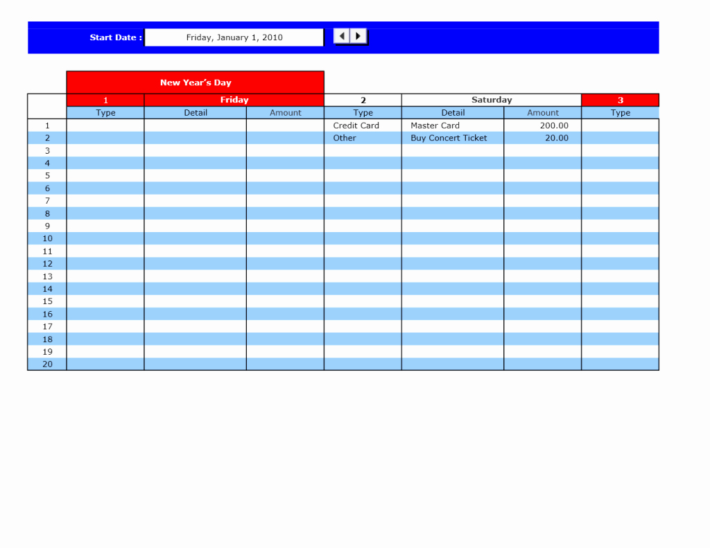Bill Pay Template Excel Lovely Bill Payment Calendar Excel Templates