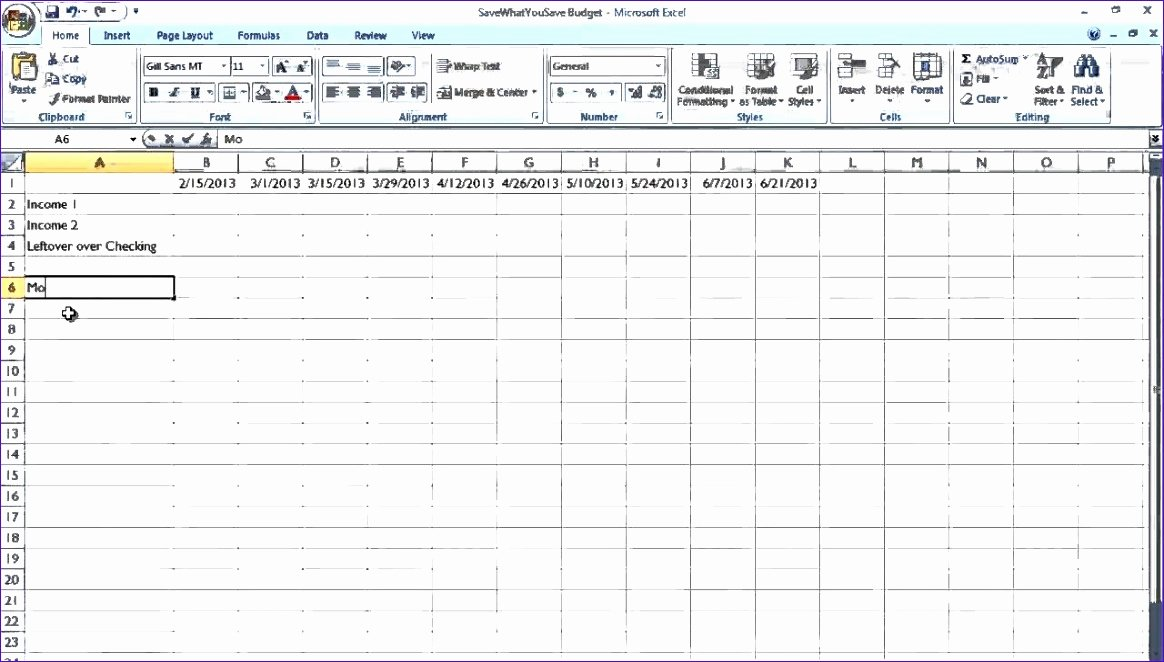 Bill Pay Template Excel Luxury 6 Bill Payment Spreadsheet Excel Templates