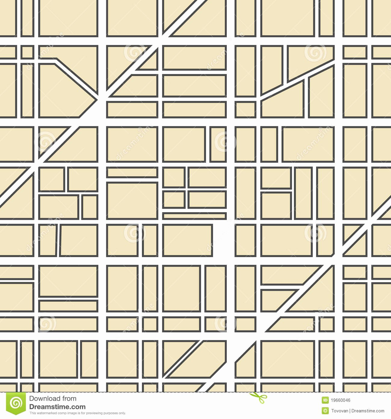Blank City Map Template New City Street Map Clip Art – Cliparts