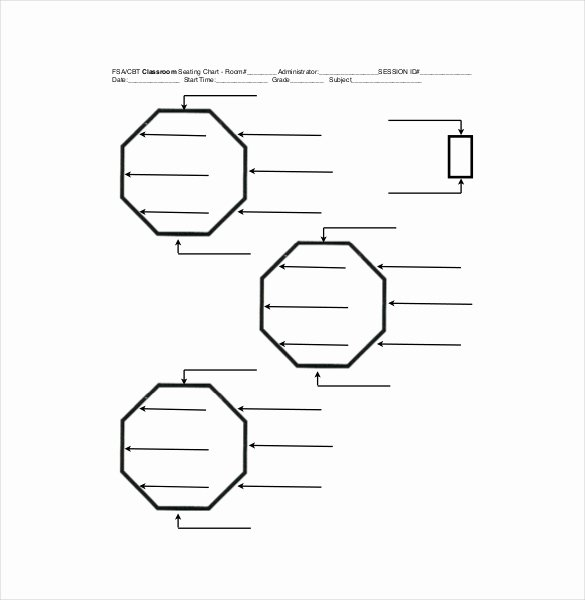 Blank Classroom Seating Chart Inspirational Classroom Seating Chart Template 10 Examples In Pdf