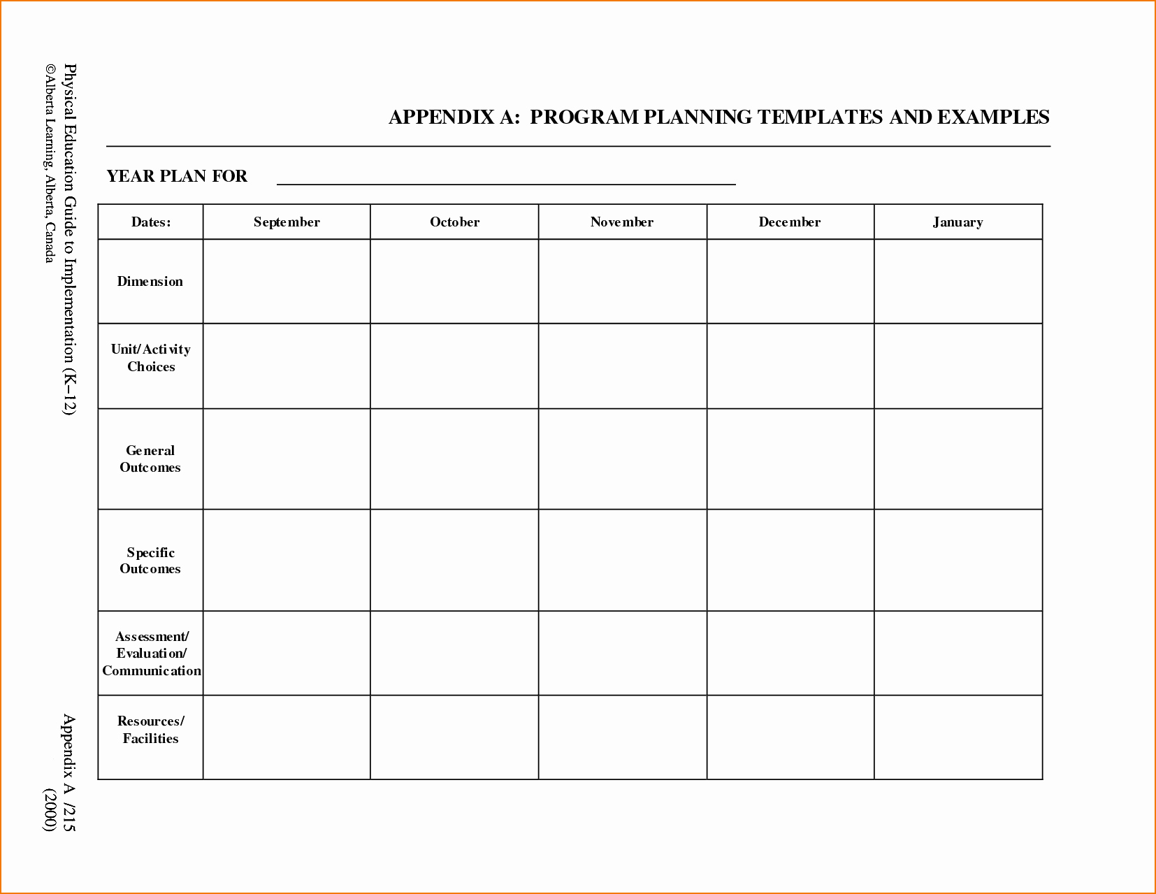 Blank Lesson Plan Template Pdf Inspirational 5 Free Lesson Plan Template