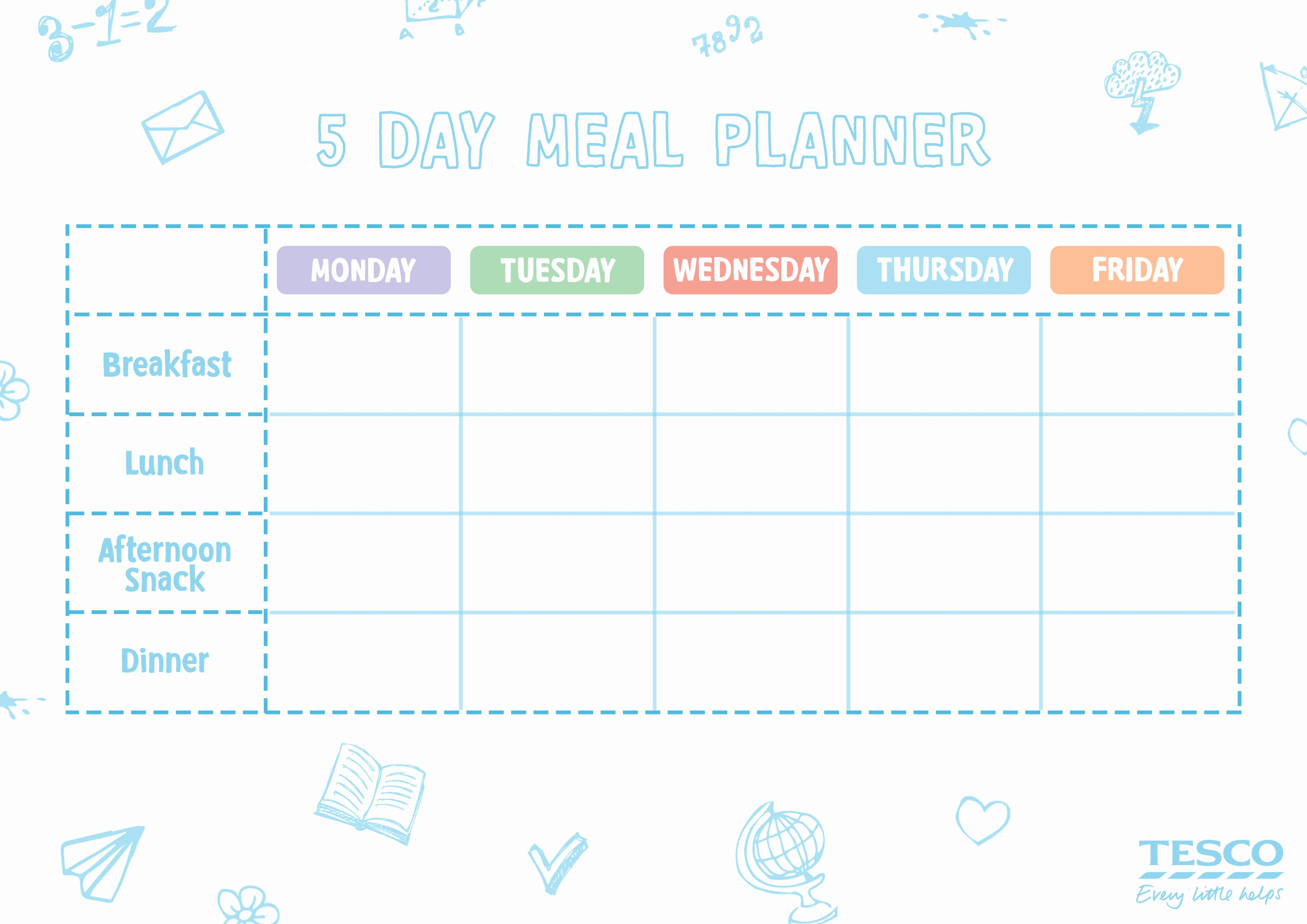 mumstown meal planner