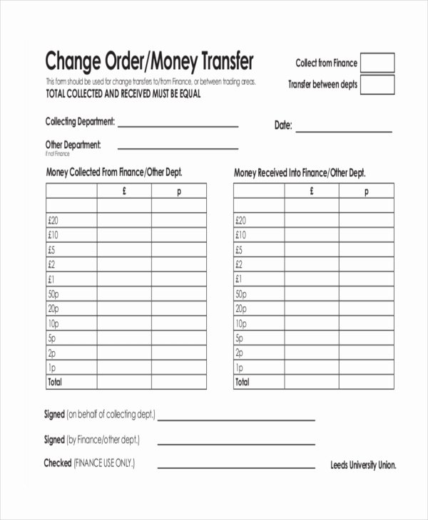 Blank Money order Template Awesome Money order forms 8 Free Word Pdf format Download