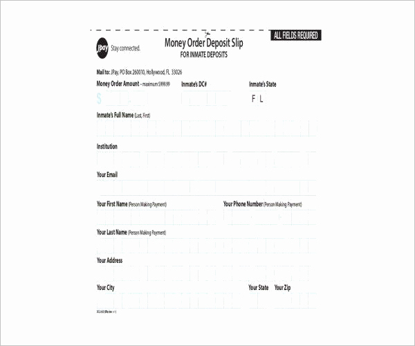 Blank Money order Template Fresh 12 Money order forms Free Pdf Download formats