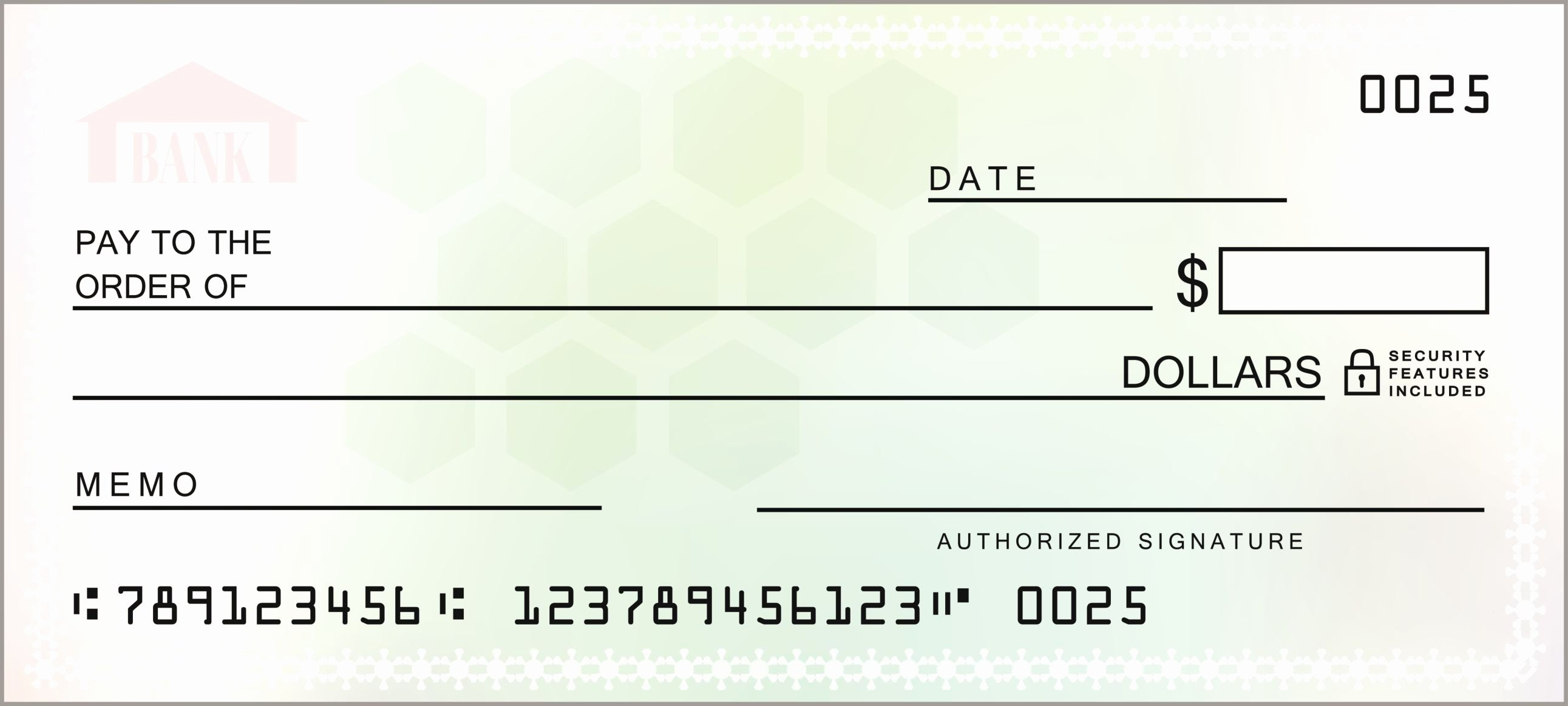 Blank Money order Template Unique How Counter Checks Work Checks From Your Branch