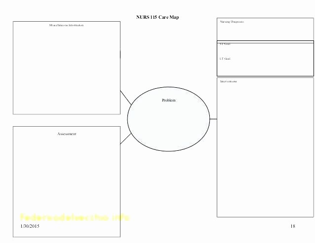 Blank Nursing Care Plan Template Fresh Concept Map Template Word Lovely How to Make A Concept Map