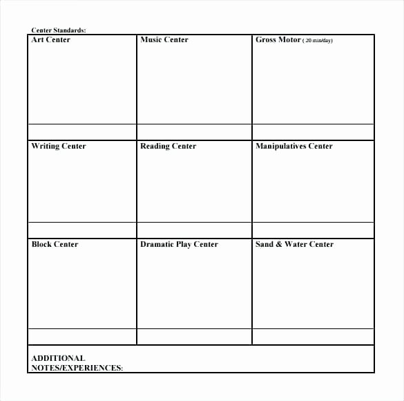 Blank toddler Lesson Plan Template Best Of toddler Lesson Plan Template Early Years – Ensitefo
