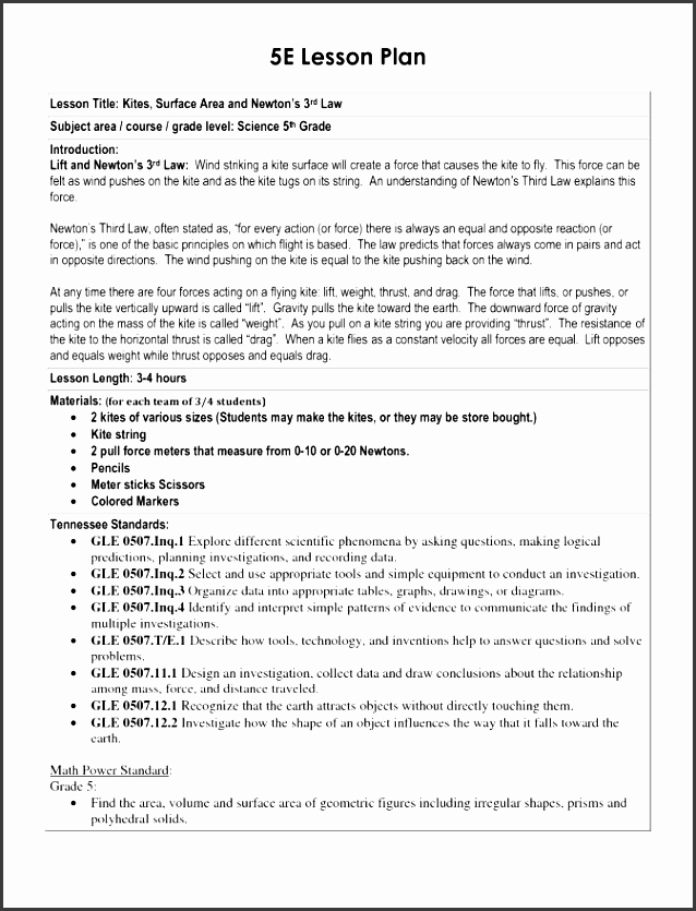 Blank Ubd Lesson Plan Template Awesome 9 Kite Design Template In Word Sampletemplatess