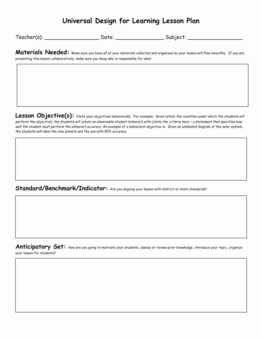 Blank Ubd Lesson Plan Template Best Of Perfect Ubd Lesson Plan Template Twilightblog