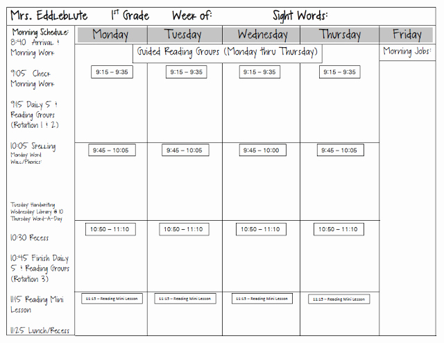Block Lesson Plan Template Inspirational Block Schedule Lesson Plan Template Kayskehauk