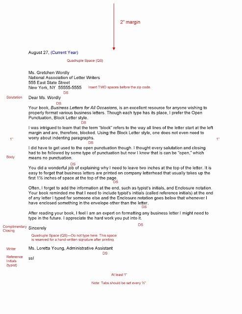 Block Letter format Sample Luxury Sample Business Letter October 2015