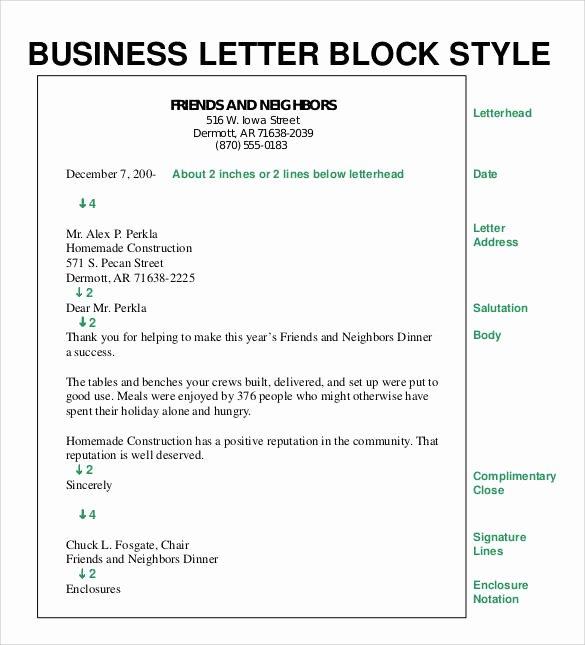 Block Letter format Sample New formal Business Letter format 29 Download Free