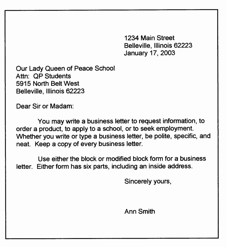 Block Letter format Sample Unique Best 25 Business Letter format Ideas On Pinterest