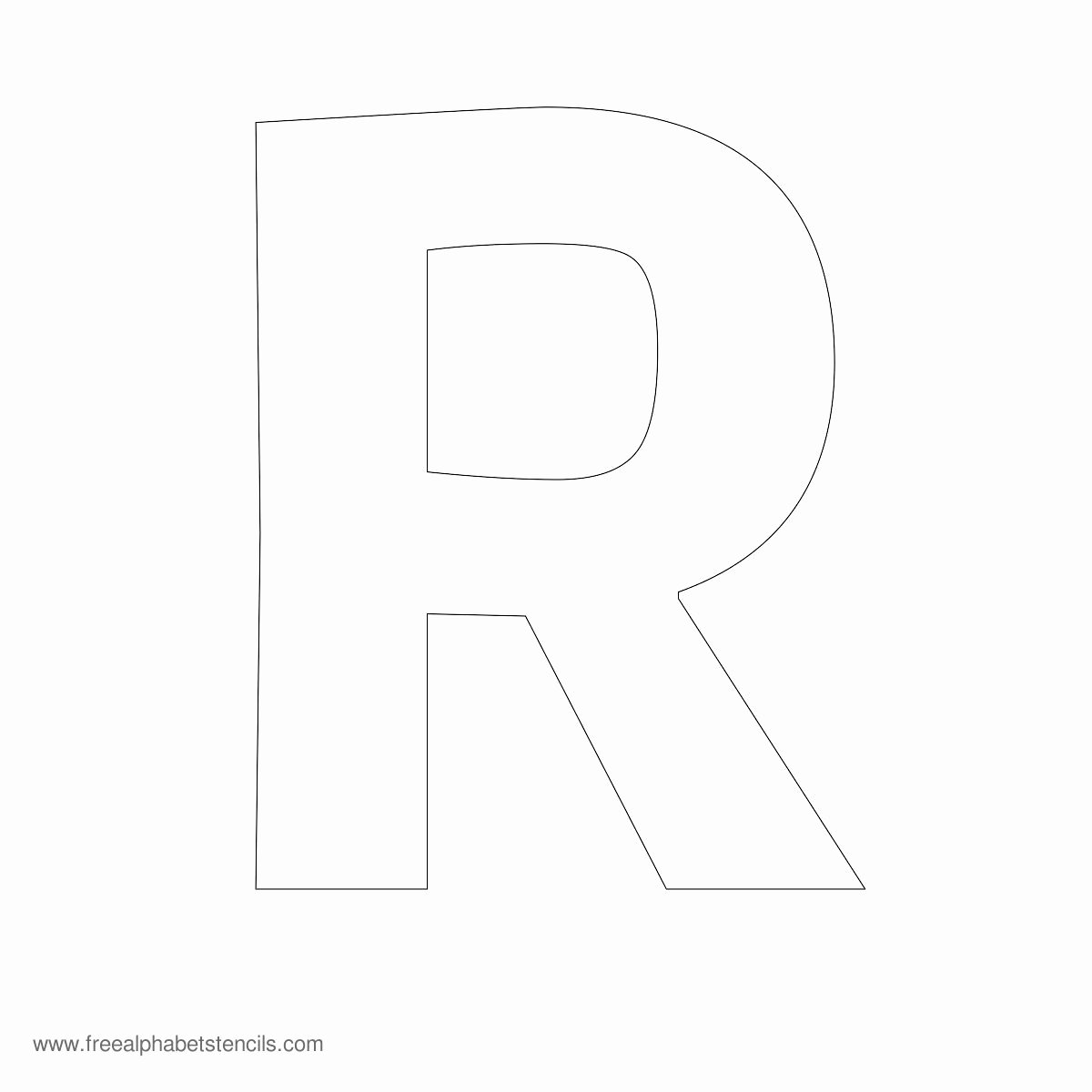 Block Letter Template Free Unique 6 Best Of Printable Block Letter Stencils R