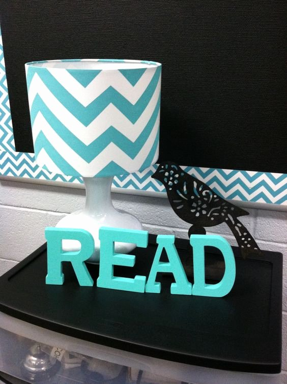Block Letter Templates for Bulletin Boards Beautiful Chevron Classroom Wood Blocks and Classroom Decor On