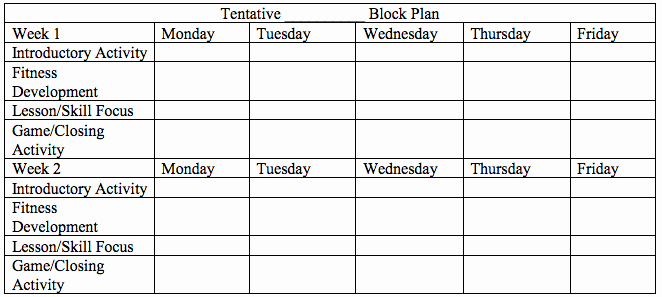 Block Scheduling Lesson Plan Template Awesome Block Schedule Lesson Plan Template Kayskehauk