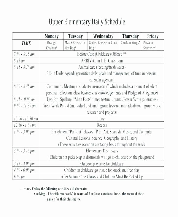 Block Scheduling Lesson Plan Template Best Of Meeting Room Schedule Template Lovely Class Proposal New