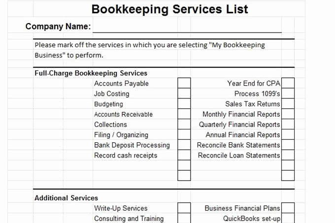 Bookkeeper Contract Engagement Letters Lovely Plan A Bookkeeping Business From Home with Great Name