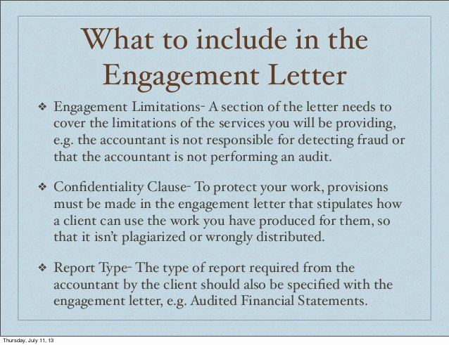 Bookkeeper Contract Engagement Letters Unique Accounting In Jamaica Engagement Letters
