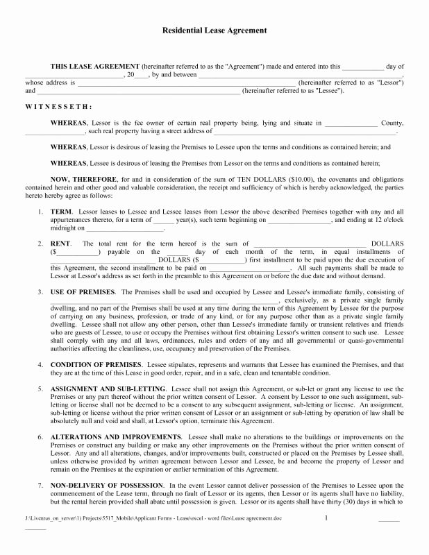 Bounce House Rental Agreement Template New Free House Rental Agreement Picture – Sample House Lease