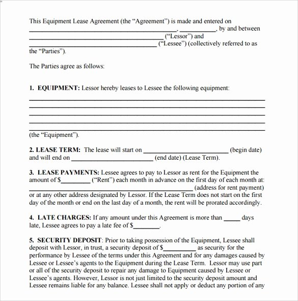 Bounce House Rental Agreement Template Unique 15 Room Lease Agreement Templates – Samples Examples