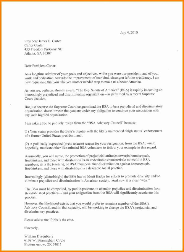 Boy Scouts Letter Of Recommendation Best Of Eagle Scout Letter Re Mendation Sample From Parents