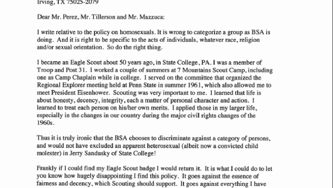 Boy Scouts Letter Of Recommendation Unique Local Eagle Scout Reacts to Revelation Of Boy Scouts