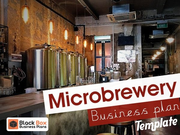 Brewery Business Plan Template Lovely Microbrewery Business Plan Template Black Box Business Plans