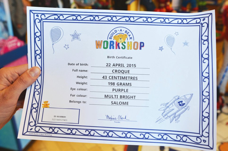Build A Bear Birth Certificate Template Inspirational Brand New New Logo and Identity for Build A Bear by Idea