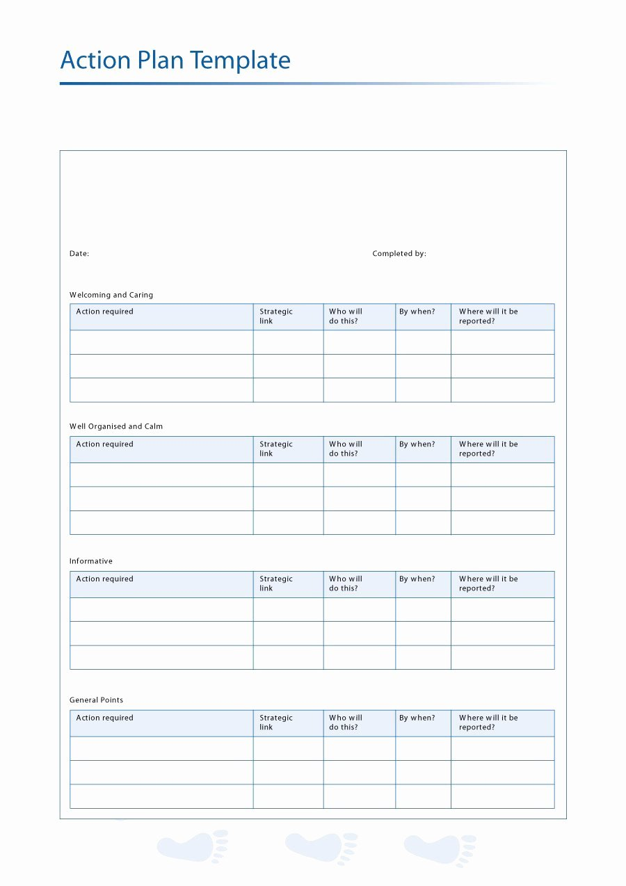 Business Action Plan Template Best Of 45 Free Action Plan Templates Corrective Emergency